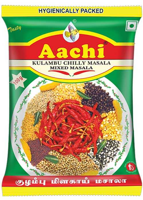 Buy Aachi Kulambu Chilly Masala - 100 gms online Singapore [ SG ]