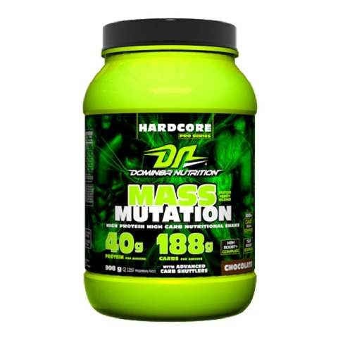 Buy Domin8r Nutrition Mass Mutation Chocolate Powder online Nederland [ NL ]