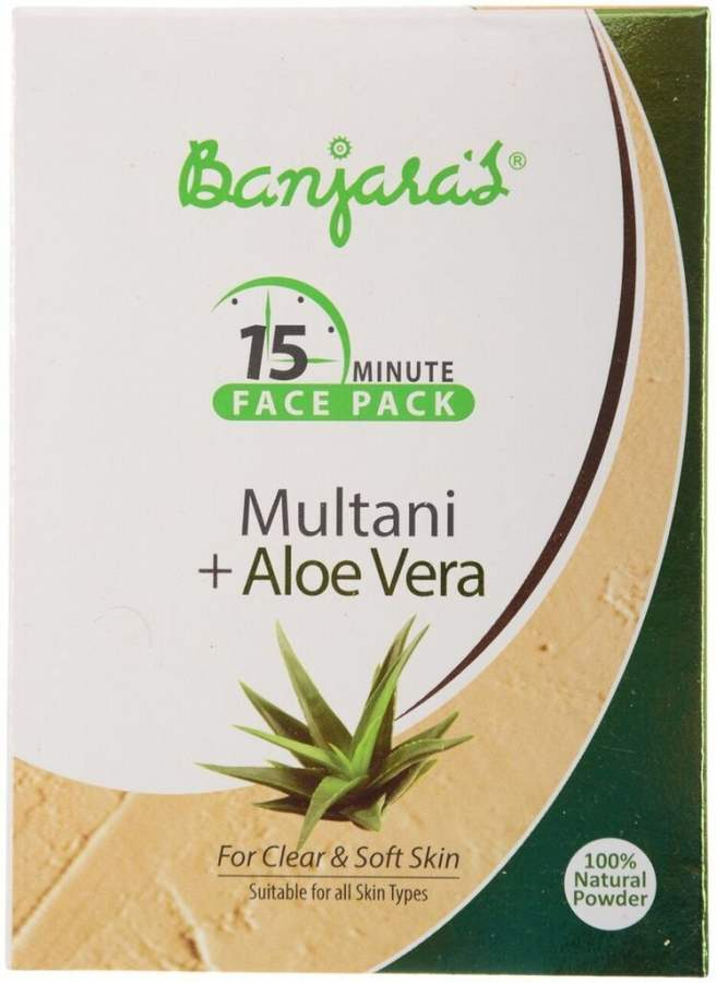 Buy Banjara's Multani with Aloevera Face Pack online United States of America [ USA ]