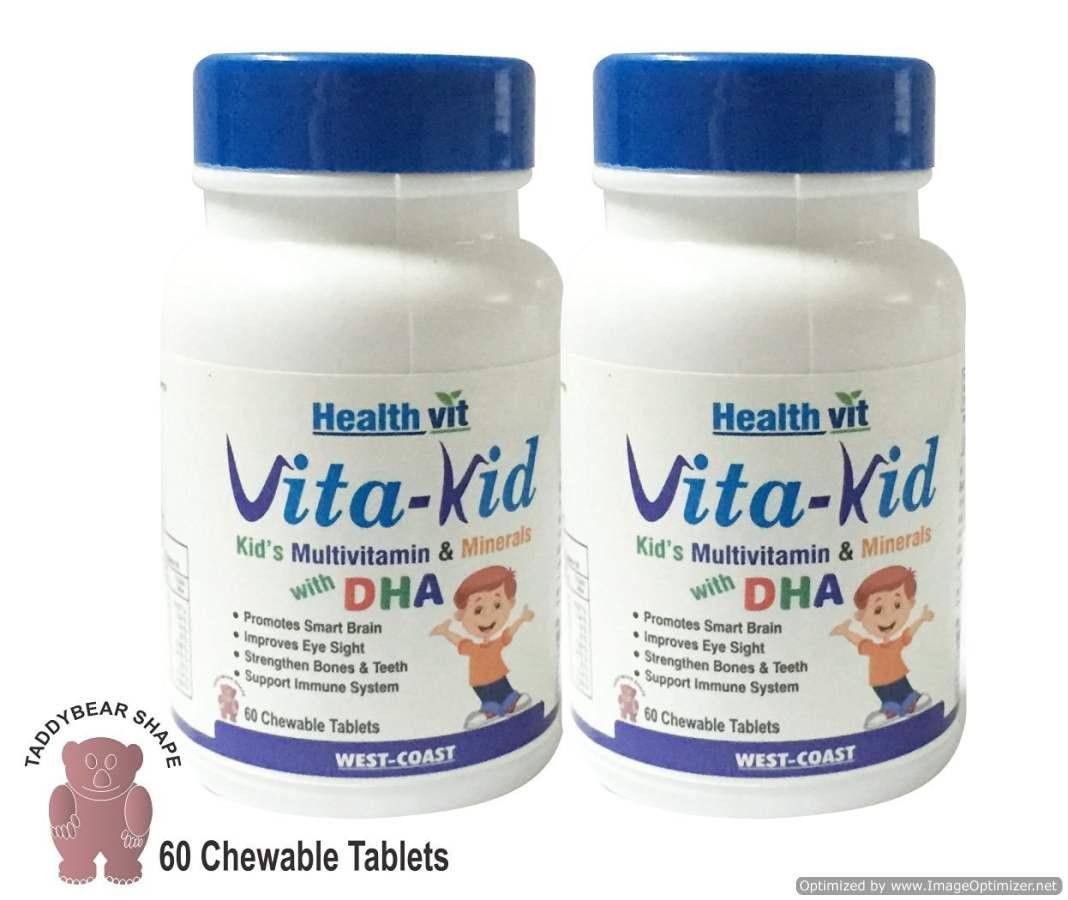 Buy Healthvit Vita-Kid chewable tablets online United States of America [ USA ]