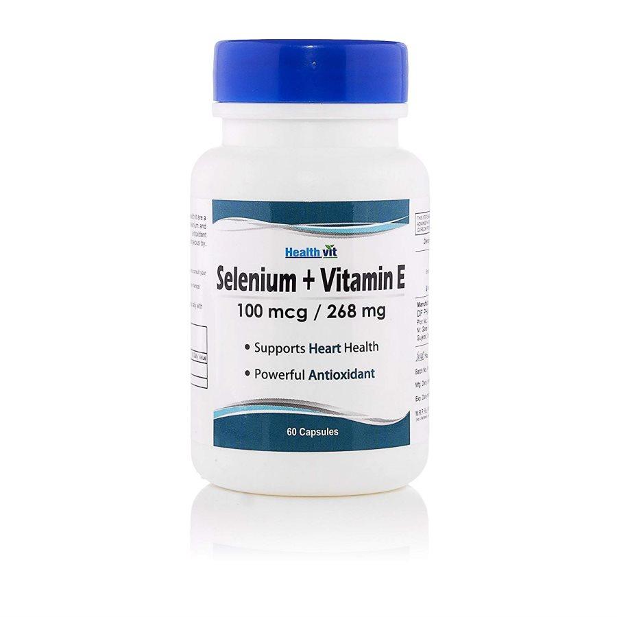 Buy HealthAid Selfert Selenium and Vitamin E Capsules online United States of America [ USA ]