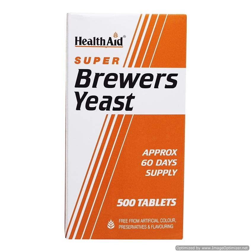 Buy HealthAid Super Brewers Yeast Tablets online United States of America [ USA ]