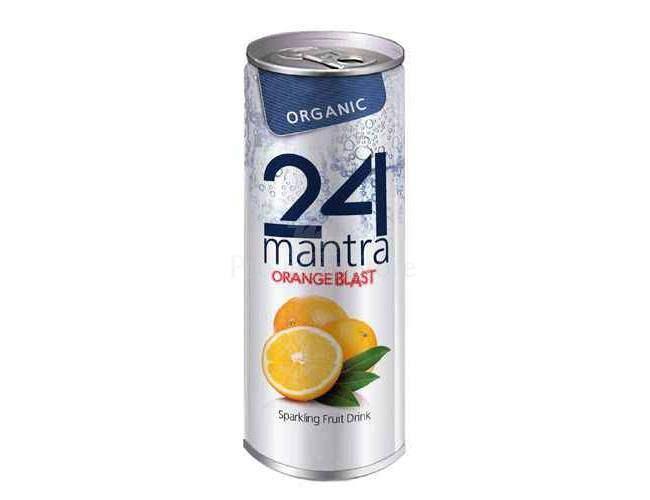 Buy 24 Mantra Organic Orange Blast online United States of America [ USA ]